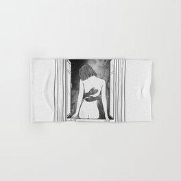 The room window. Hand & Bath Towel