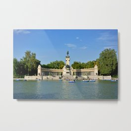 El Retiro | Madrid, Spain Metal Print