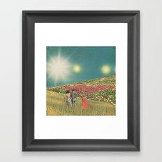 Towards the suns Framed Art Print