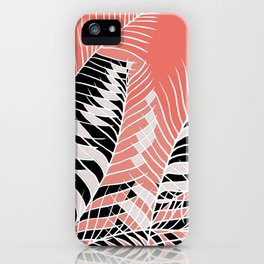 Twister Palm Riddle iPhone Case