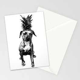 Pineapple Pup Stationery Cards