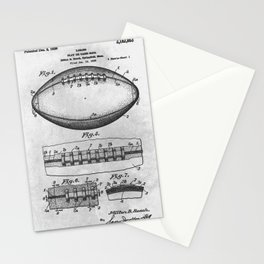 1938 Football Stationery Cards