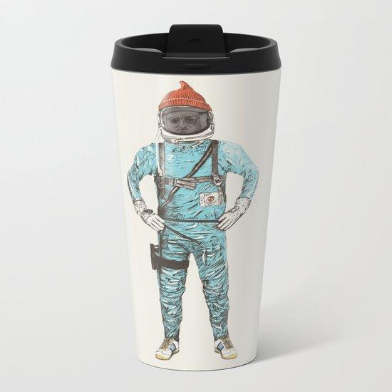 Zissou In Space Metal Travel Mug