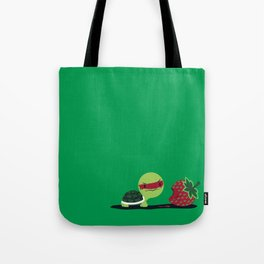 Strawberry Turtle Tote Bag