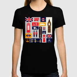 London Keep Calm And Carry On T-shirt
