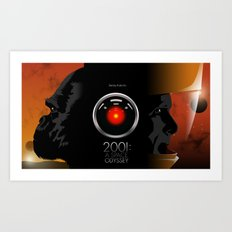 2001 - A space odyssey Art Print