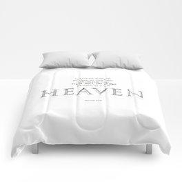As it is in HEAVEN Comforters
