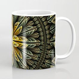 Autumn fantasy flower and petals Coffee Mug