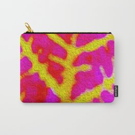 Bazaar Leaf Art Carry-All Pouch