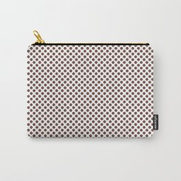 Root Beer Polka Dots Carry-All Pouch