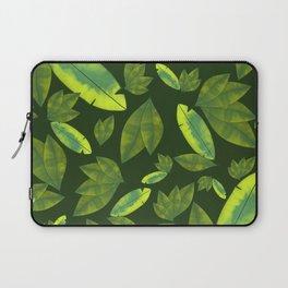 Banana leaf print #garden #nature #leafprint Laptop Sleeve