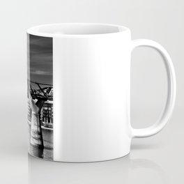 The Millenium Bridge London Coffee Mug