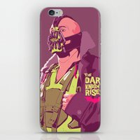 bane iPhone & iPod Skins featuring BANE by Mike Wrobel