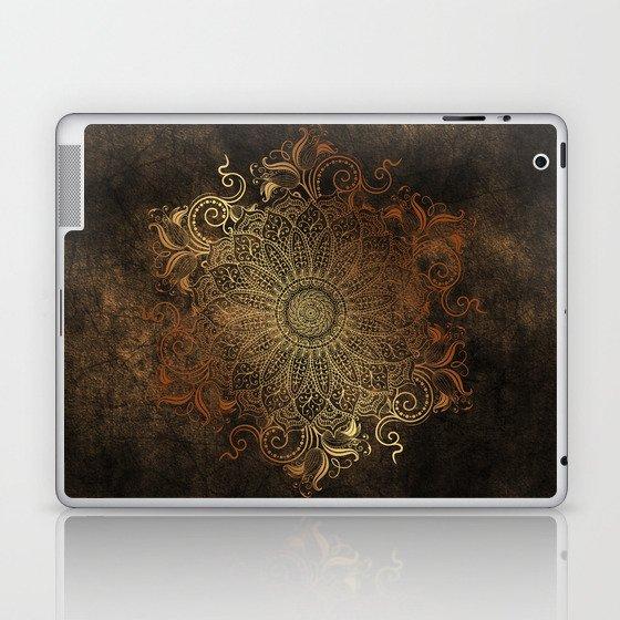 Mandala - Copper Laptop & iPad Skin