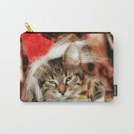 Christmas Kitten Carry-All Pouch
