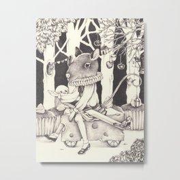 Sally Forth Metal Print