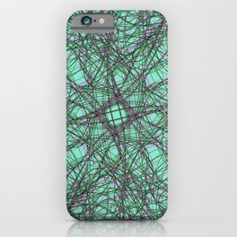 abstract 042 iPhone Case