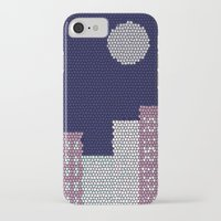 buildings iPhone & iPod Cases featuring Buildings by Marie Libot