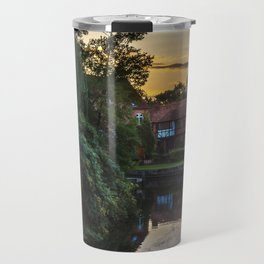 Early Evening Whitchurch on Thames Travel Mug