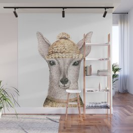 Deer face Wall Mural