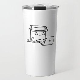 coffee at work Travel Mug