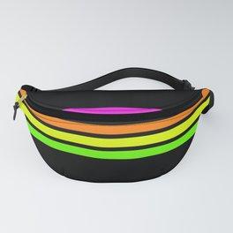 Rainbow Stripes V Fanny Pack
