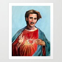 Jesus H.I. Christ Art Print