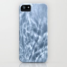 Mammatus Cloud Panorama iPhone Case