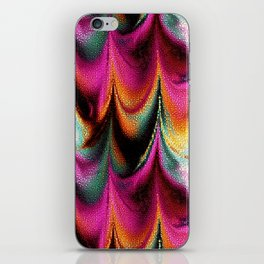 Abstract Feather organic pattern iPhone Skin