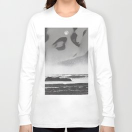 Ghost Waves Long Sleeve T-shirt