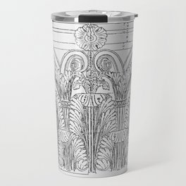 Corinthian column Travel Mug