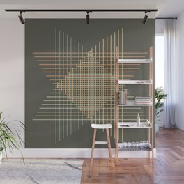 Abstract figure Wall Mural