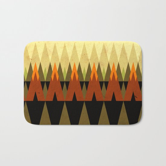 living in the woods Bath Mat