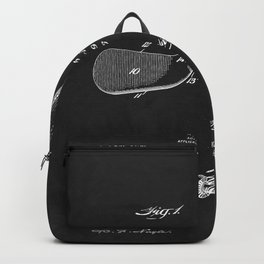 Adjustable Golf Club Patent Backpack