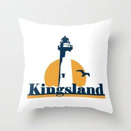 Kingsland - Georgia. Throw Pillow