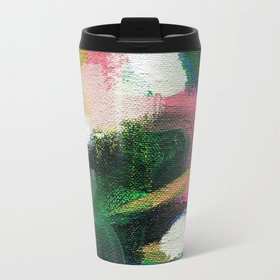 Summer Melon Metal Travel Mug