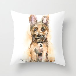 DOG#19 Throw Pillow