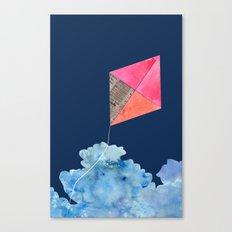Kite Up Canvas Print