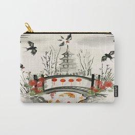 Oriental Garden Carry-All Pouch