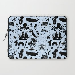 High Seas Adventure // Light Blue Laptop Sleeve