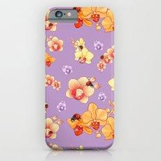 Orchids & Ladybirds iPhone 6s Slim Case