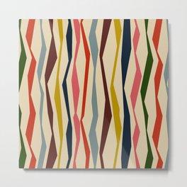 Bloomsbury Stripe Metal Print
