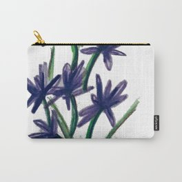 PurpleFlowers Carry-All Pouch