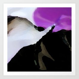 Digital Abstraction 014 Art Print