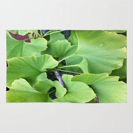 Ginkgo Leaves Rug