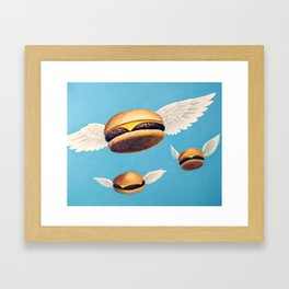 Burger Heaven Framed Art Print