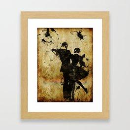 Dance With The Dead Framed Art Print