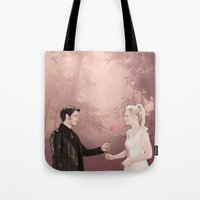 captain swan Tote Bags featuring Captain Swan by The BMB