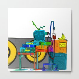 Music Theory Metal Print