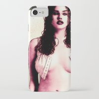 planet of the apes iPhone & iPod Cases featuring In The Planet Of The Apes (Estella Warren) by  JESUS TORRADO TORO (jarttoro)